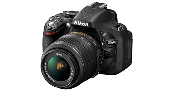 Nikon 5200 + AFS DX 18/55G VR - Cámara digital (24.1 MP, SLR Kit ...