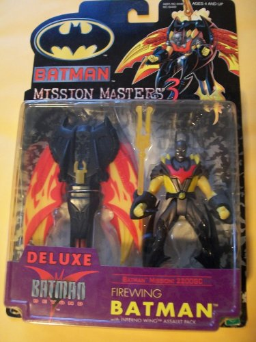 Batman Mission Masters 3 Batman Beyond Firewing Batman