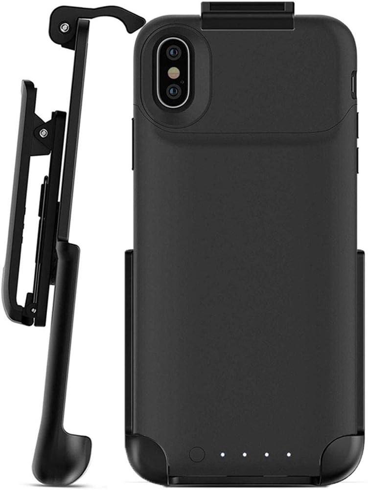 Funda con clip para cinturón – Compatible con Mophie Juice Pack Air – iPhone X (funda no incluida): Amazon.es: Electrónica