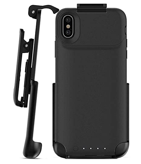 sports shoes c031d 24ace Encased Belt Clip Holster - Compatible with Mophie Juice Pack Air - iPhone  X (case is Not Included)