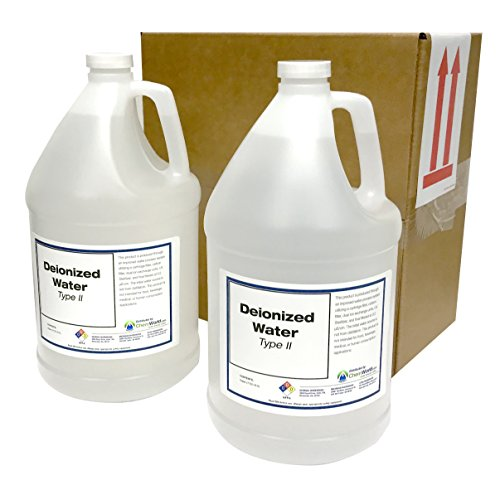 ChemWorld Type II Deionized Water - 2x1 Gallons