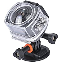 AMKOV AMK-100S 360 Degree All View 220 Fisheye Camera WiFi 1440P@30FPS Action Camera