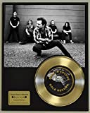 #7: Pearl Jam Limited Edition Gold 45 Record Display. Only 500 made. Limited quanities. FREE US SHIPPING