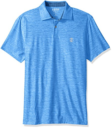 IZOD Men's Golf Title Holder Short Sleeve Polo, Nautical, XX-Large (Shirt Polo Golf Short Sleeve)
