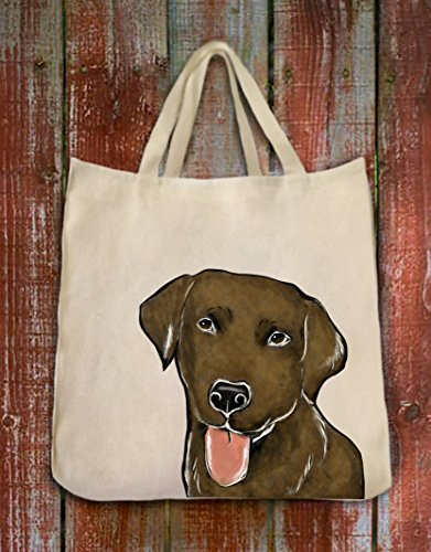 Personalized Chocolate Tote Bag - 9