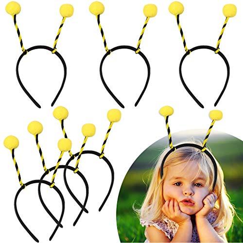 Party Headbands,Coxeer 12PCS Bee Headbands Creative Cute Bee Tentacle Hair Band Party Hair Hoop for Kids Women Halloween Birthday Party Supplies