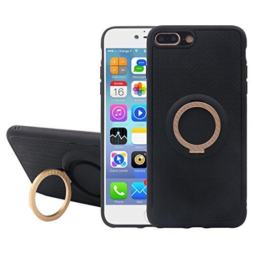 Iphone 7 Plus Fall, TPU + PC Schutzmaßnahmen zurück Fall mit Ring Halter CASE FÜR IPHONE 7 PLUS ( Color : Gold )