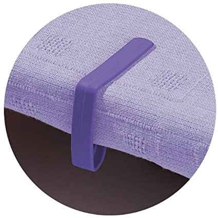 Worth Gardening by Garland Purple W2042 Table Cloth Clips Purple Pack of 4