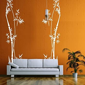 Vinyl Bamboo Wall Decal Bamboo Decal Quotes Tree Wall Decal Bamboo Wall  Decor Wall Applique Home Part 81