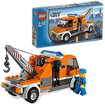 LEGO City Tow Truck (7638): Amazon.co.uk: Toys & Games