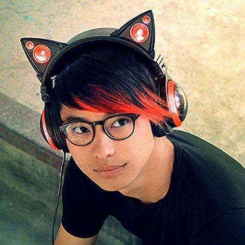 Brookstone Wired Cat Ear Headphones