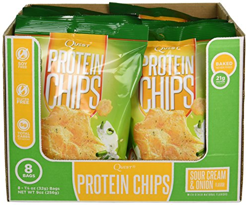 quest sour cream protein chips - 5
