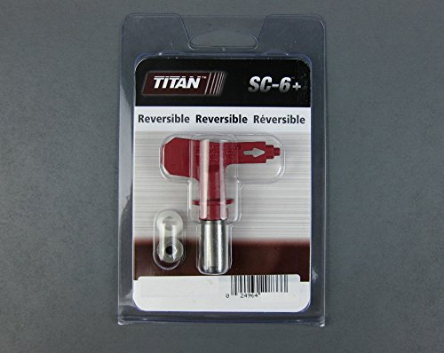 662-215 Titan Sc6 + Reversible Spray Tip - Red 215 Titan Tool