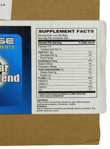 Eclipse Sports Supplements Juice Bar Protein, Vanilla Flavor,15-Pound by Eclipse Sports Supplements (Image #5)