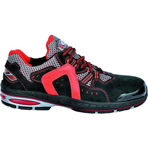 Cofra 19050-000 - Zapatos de seguridad s1p liniero nuevo tamaño trotar 45, azul, negro