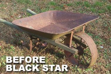 MRO Chem Black Star Rust Converter - Converts Rust on Any Steel Surface - 5 Gallon Pail