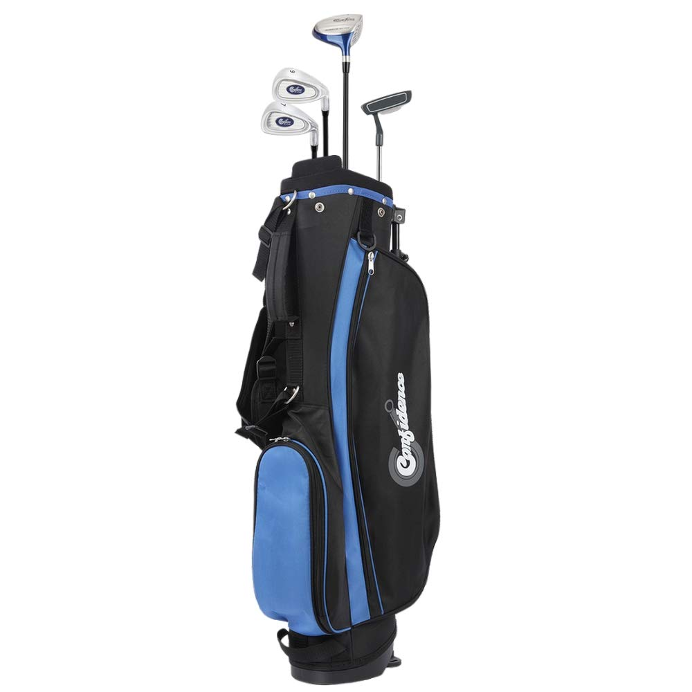 Confidence Junior V2 Golf Club Set with Stand Bag for Kids Ages 4-7 Years 2019 , Right