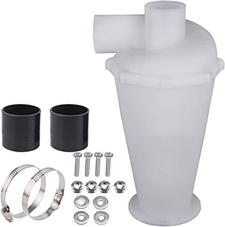 Filtro de extracción para aspiradora, ciclón separador, ciclón, polvo para coleccionistas, filtro para aspiradora blanco: Amazon.es: Hogar