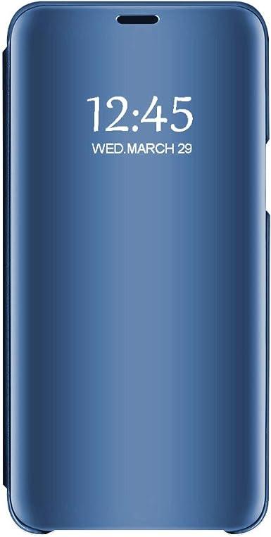 Compatible con Funda Huawei Mate 20 Pro Negro Espejo Huawei ...