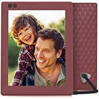 Nixplay Seed 8 inch WiFi Digital Photo Frame - Mulberry