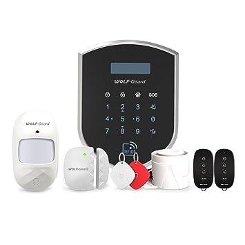 wolf-guard 3 G/GSM Wifi (wm3gr) sistema de seguridad para el hogar, DIY Smart (WCDMA) Home Kit de vigilancia de alarma