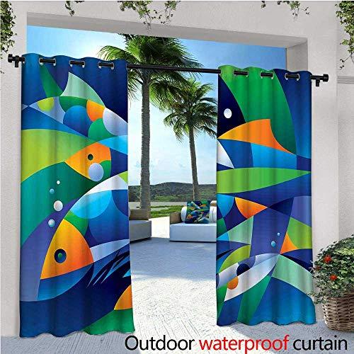 Ocean Outdoor- Cortina de privacidad de pie para exteriores, estilo 3D, diseño de barco pirata, mar histórico, barro, cielo...
