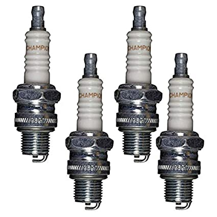 Amazon.com : Champion L86C-4pk Copper Plus Small Engine Spark Plug Stock # 306 (4 Pack) : Lawn And Garden Tool Replacement Parts : Garden & Outdoor
