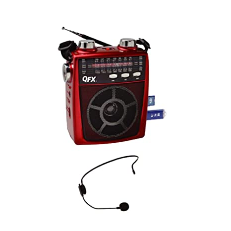 Review QFX Portable Pa system