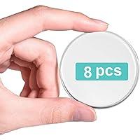 Gel Deurstoppers Muurbeschermer, Deurbuffer, Herbruikbaar Nieuw Materiaal (8 Stks 2 inch), Zelfklevende Transparante…