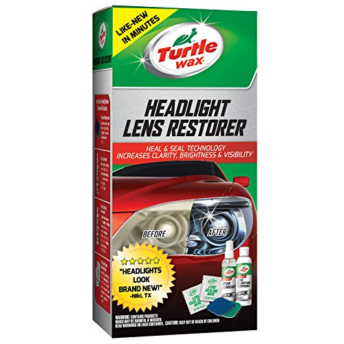 Turtle Wax T-240KT Headlight Lens Restorer Kit - Headlight Lens Cleaning