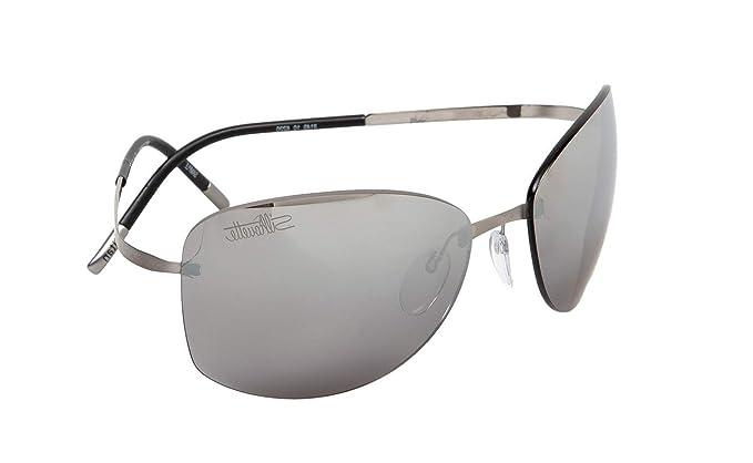 Silhouette Gafas de Sol TITAN PURE 8149 RUTHENIUM/GREY ...