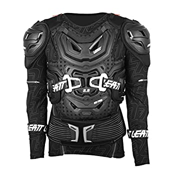 Image of Leatt 5.5 Body Protector (Black, XX-Large) Combined Chest & Back Protectors