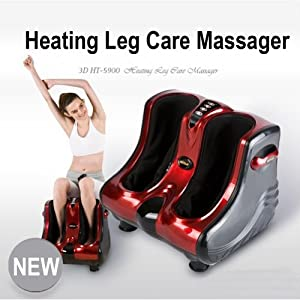 Hutech HT-5900 Electric Heating Foot Care Massager Shiatsu AC100~240V (0244)