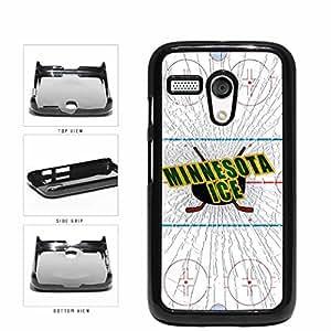Minnesota Ice Plastic Phone Case Back Cover Moto G