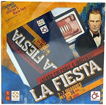 Mercurio La fiesta - Juego de Mesa en Castellano: Amazon.es: Juguetes y juegos
