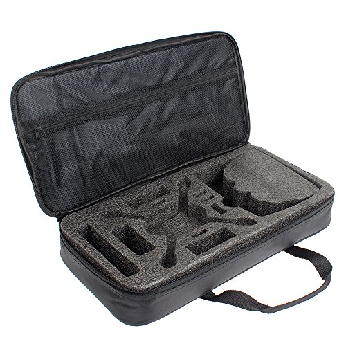 Tomlov carrying case handy bag organizer for hubsan x4 for Housse transport costume