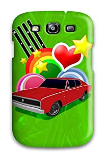 Best 9883240K84568984 Premium Case For Galaxy S3- Eco Package - Retail Packaging -