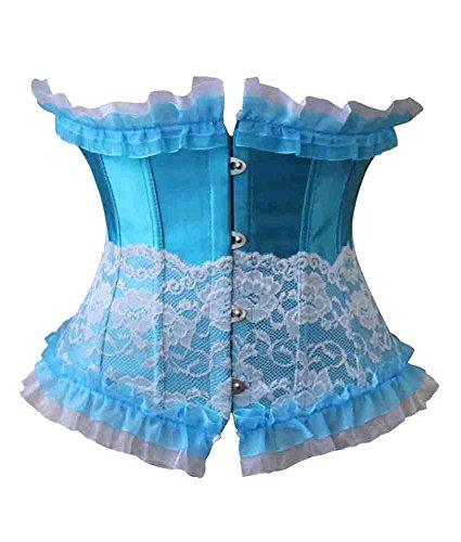 szivyshi - Corsé - para mujer Azul