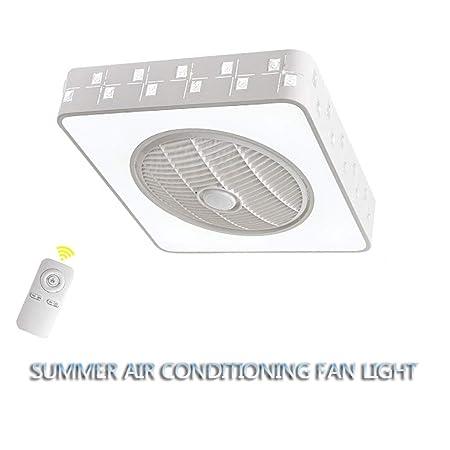 HFSD Ventilador De Techo con Luz Y Mando A Distancia LED ...