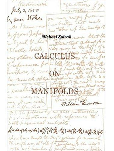 Calculus on manifolds a modern approach to classical theorems of calculus on manifolds a modern approach to classical theorems of advanced calculus michael spivak fandeluxe Gallery