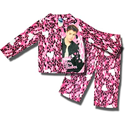 "Little Jammies Girls Justin ""Future Mrs Bieber"" Pajama Set (2 Piece)"