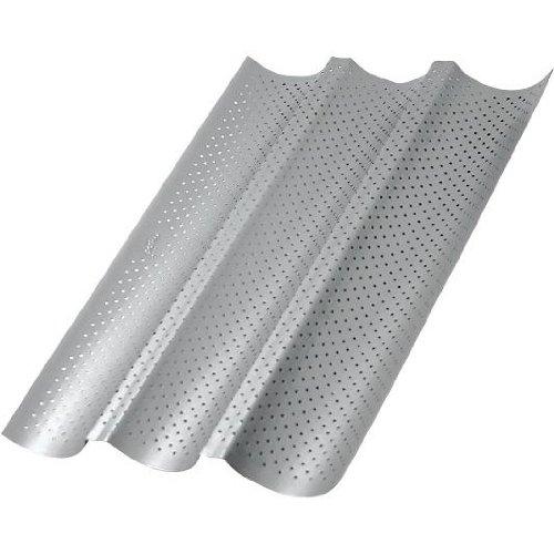 Patisse 03564 Mini loaf Pan, 9-1/2'' x 10-1/4'', Gray Metallic