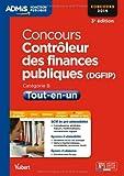 Concours Contrôleur des Finances publiques (DGFIP) - Tout-en-un - Catégorie B - Concours 2014