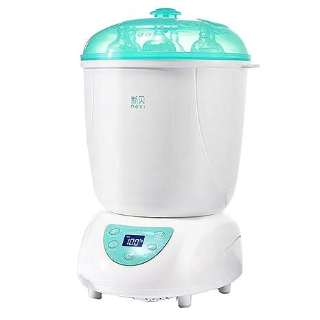 DLT Botella Esterilizador de Vapor y secador, Filtro de HEPA 3 en 1 Calentador de