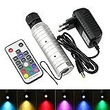 6W LED RGB Color Changing Fiber Optic Star Ceiling Light Engine Source Driver + 18 Key Remote Controller
