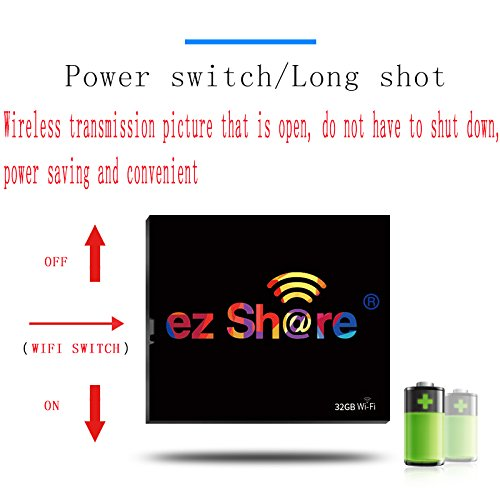 New hot Sold Ez Share WiFi cf Card 32G DLSR Camera Wireless Canon 7D highspeed 5D2 Compact Flash Memory Card WiFi Card (32GB) by EZ SHARE (Image #2)
