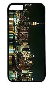 Building New York City Skyline Nice PC Black Case for Masterpiece Limited Design iphone 6 by Cases & Mousepads by supermalls
