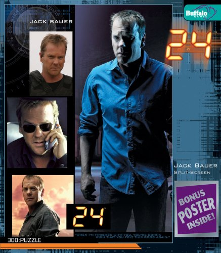 Buffalo Games 24 TV Series: Jack Bauer 2