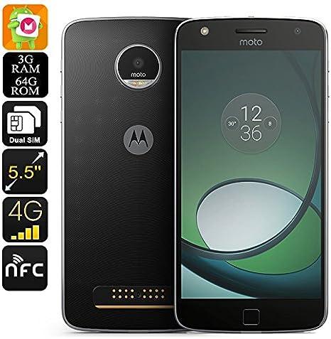 Generico Lenovo Motorola Moto Z Play XT1635 Smartphone: Amazon.es ...