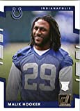 2017 Donruss #368 Malik Hooker Indianapolis Colts Rookie Football Card